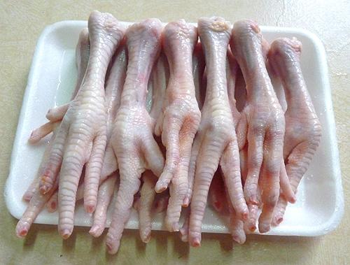 Cách làm chân gà hấp hành