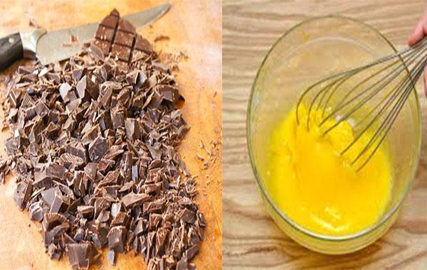 cách làm kem socola